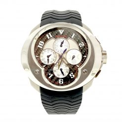 Franc Vila Esprit Unique Titanium and Stainless Steel Men's Watch, 12.9a.TIDHES.CF-WHG.5N.5NH 12.9a.TIDHES.CF-WHG.5N.5NH