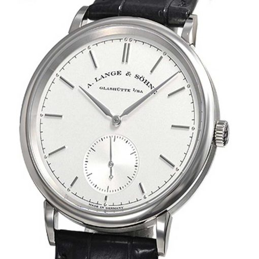 A. Lange and Sohne Saxonia Automatic White Gold Watch, 380.026 2