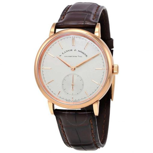 A. Lange and Sohne Saxonia Automatic Rose Gold Watch, 380.032