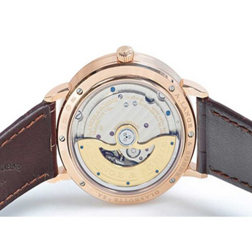 A. Lange and Sohne Saxonia Automatic Rose Gold Watch, 380.032 2
