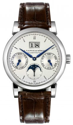 A. Lange and Sohne Saxonia Annual Calendar White Gold Men's Watch, 330.026 330.026