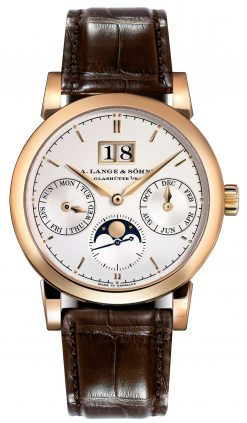 A. Lange and Sohne Saxonia Annual Calendar Rose Gold Watch, 330.032 330.032