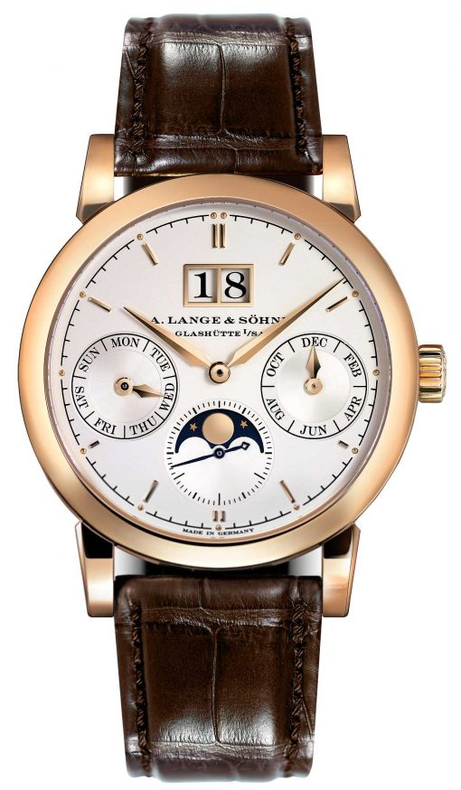A. Lange and Sohne Saxonia Annual Calendar Rose Gold Watch, 330.032