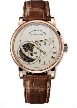 A. Lange and Sohne Richard Lange Tourbillon Rose Gold Watch 760.032