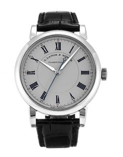 A. Lange and Sohne Richard Lange Platinum Watch 232.025