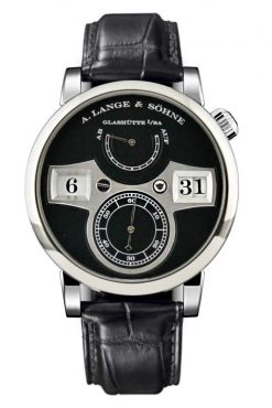 A. Lange and Sohne Lange Zeitwerk White Gold Watch 140.029
