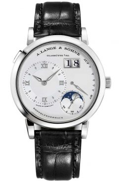 A. Lange and Sohne Lange Moonphase Platinum Men's Watch preowned.109.025