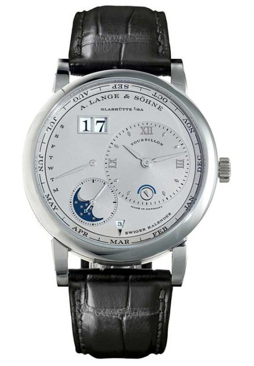 A Lange and Sohne Lange 1 Tourbillon Perpetual Calendar Men's Watch, Preowned-720.025