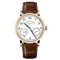 A Lange and Sohne 1815 Up/Down Brown Leather Men's Watch 234.032