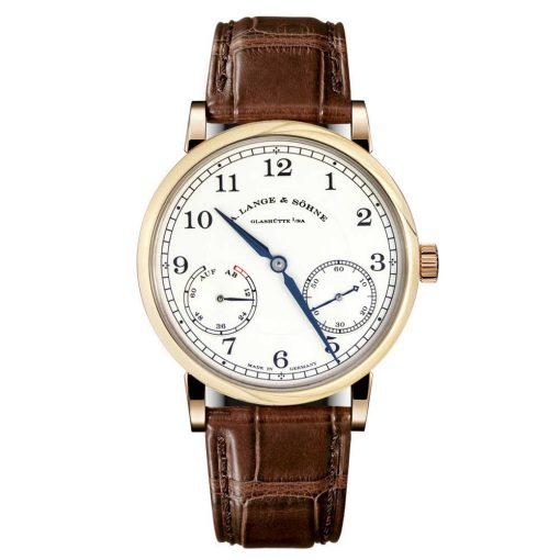 A Lange and Sohne 1815 Up/Down Brown Leather Men's Watch, 234.032
