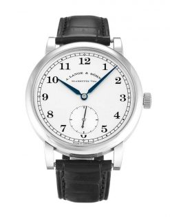A Lange and Sohne 1815 Black Leather Men's Watch, 235.026 235.026