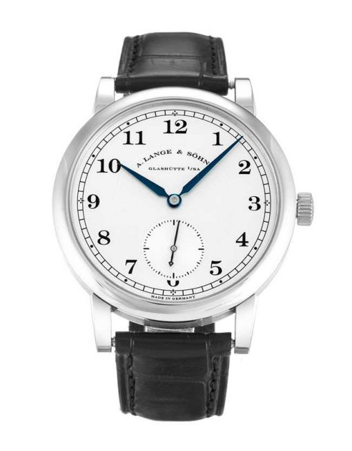 A Lange and Sohne 1815 Black Leather Men's Watch, 235.026