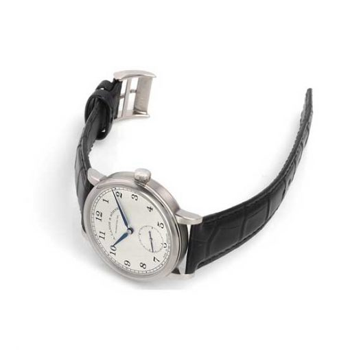 A Lange and Sohne 1815 Black Leather Men's Watch, 235.026 3