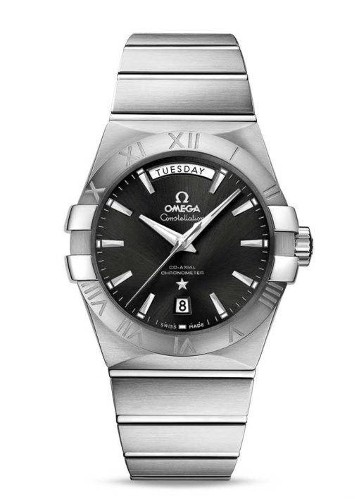 Omega Constellation Chronometer Day Date Men's Watch, 123.10.38.22.01.001