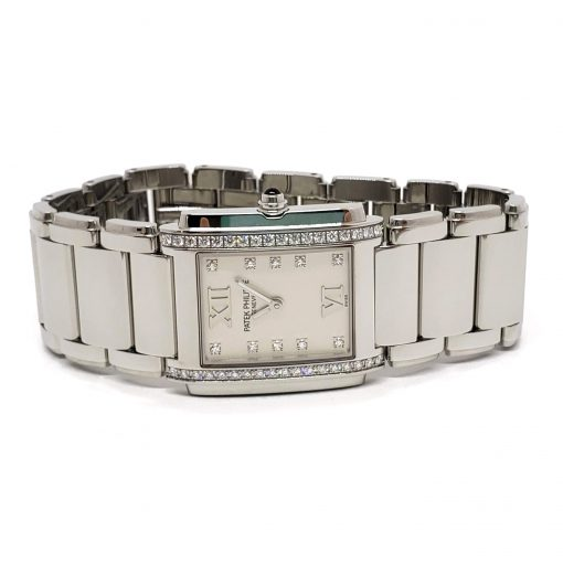 Patek Philippe Twenty-4 Small Quartz Stainless Steel  Women's Watch, 4910/10A-011 10