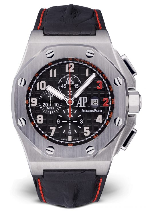 Audemars Piguet Royal Oak Offshore Shaquille O'Neal Chronograph Stainless Steel Men's Watch, Preowned-26133ST.OO.A101CR.01