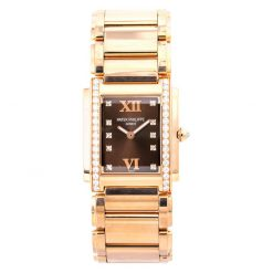 Patek Philippe Twenty-4 Small Quartz 18K Rose Gold Diamonds Ladies Watch, 4910/11R-010 4910/11R-010