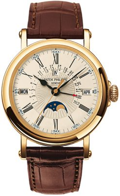 Patek Philippe Grand Complication Perpetual Calendar 18k Yellow Gold Men's Watch 5159J-001