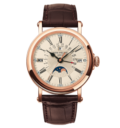Patek Philippe Grand Complication Perpetual Calendar 18k Rose Gold Men's Watch 5159R-001