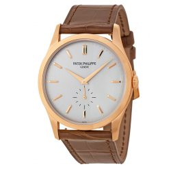 Patek Philippe Calatrava 18k Rose Gold Men's Watch 5196R-001