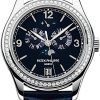 Patek Philippe Complications Annual Calendar Moonphase 18k White Gold Diamonds Men's Watch, 5147G-001 1