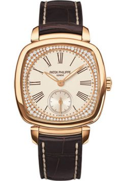 Patek Philippe Gondolo 18k Rose Gold Diamonds Ladies Watch 7041R-001