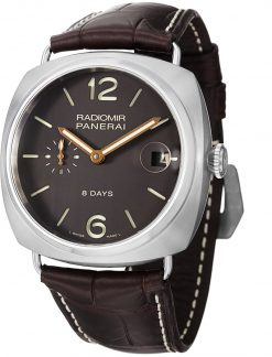 Officine Panerai Historic Radiomir 8 Days Titanium Men's Watch, PAM00346 PAM00346