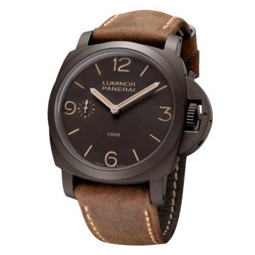 Officine Panerai Special Edition 2011 Luminor Composite 1950 3 Days Men`s Watch, PAM00375 2