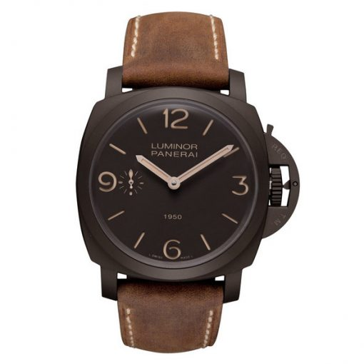 Officine Panerai Special Edition 2011 Luminor Composite 1950 3 Days Men`s Watch, PAM00375