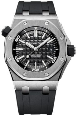 Audemars Piguet Royal Oak Offshore Diver Stainless Steel Men's Watch 15710ST.OO.A002CA.01