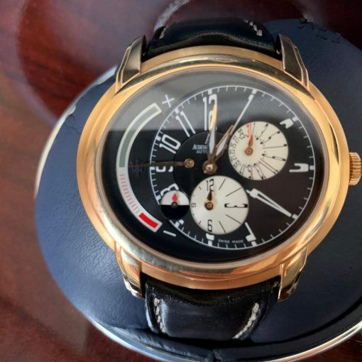 Audemars Piguet Millenary Maserati Spechial Limited Edition Maserati 18K Rose Gold Men`s Watch, preowned.26150OR.OO.D003CU.01 10