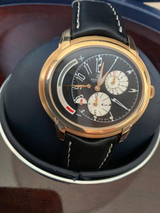 Audemars Piguet Millenary Maserati Spechial Limited Edition Maserati 18K Rose Gold Men`s Watch, preowned.26150OR.OO.D003CU.01 8
