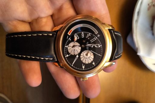 Audemars Piguet Millenary Maserati Spechial Limited Edition Maserati 18K Rose Gold Men`s Watch, preowned.26150OR.OO.D003CU.01 3