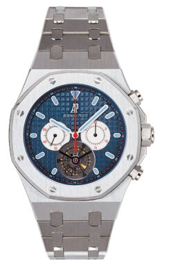 Audemars Piguet Royal Oak Tourbillon Chronograph Stainless Steel Men's Watch, Preowned-25977ST.OO.1205ST.01 Preowned-25977ST.OO.1205ST.01