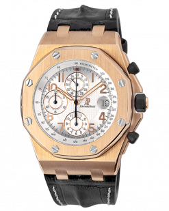 Audemars Piguet Royal Oak Offshore Chronograph 18K Rose Gold Limited Edition Men's Watch preowned.26061OR.OO.D002CR.01