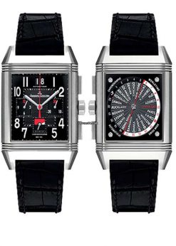 Jaeger-LeCoultre Reverso Squadra World Chronograph Titanium Men`s Watch preowned.Q702T470