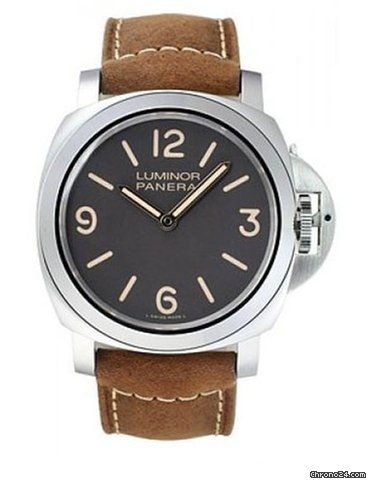 Panerai Officine Panerai Luminor Base Boutique Special Edition Stainless Steel Men's Watch, preowned.PAM-00390