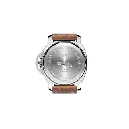 Panerai Officine Panerai Luminor Base Boutique Special Edition Stainless Steel Men's Watch, preowned.PAM-00390 3