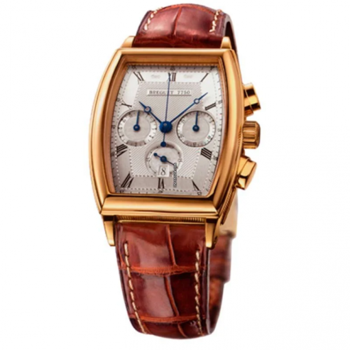Breguet Heritage Chronograph 18k Yellow Gold Men`s Watch, preowned.5460BA/12/996