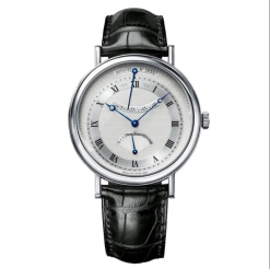 Breguet Classique Retrograde Seconds 18K White Gold Men's Watch, preowned.5207BB/12/9V6 preowned.5207BB/12/9V6
