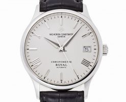 Vacheron Constantin Patrimony Chronometre Royal 18k White Gold Men`s Watch preowned.47022/000g
