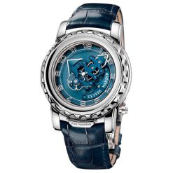 Ulysse Nardin Freak Blue Phantom 18K White Gold Men's Watch, preowned-020-81 preowned-020-81