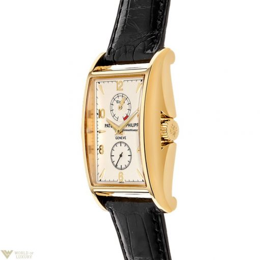 Patek Philippe 10 Days Power Reserve Limited Editions 18K Yellow Gold Leather Men`s Watch, preowned.5100J-001 2