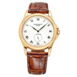 Patek Philippe Calatrava 18K Yellow Gold Men`s Watch, preowned.5115J preowned.5115J