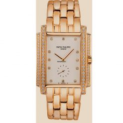 Patek Philippe Gondolo 18K Yellow Gold Diamonds Ladies Watch, preowned.5025/1J preowned.5025/1J