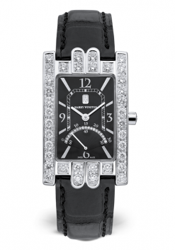 Harry Winston Avenue Diamond 18K White Gold Ladies Watch preowned.310UQSRW