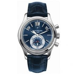 Patek Philippe Annual Calendar Blue Dial Platinum Men`s Watch, preowned.5960P preowned.5960P