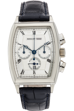 Breguet Heritage Chronograph White Gold Men's Watch preowned.5460BB/12/996