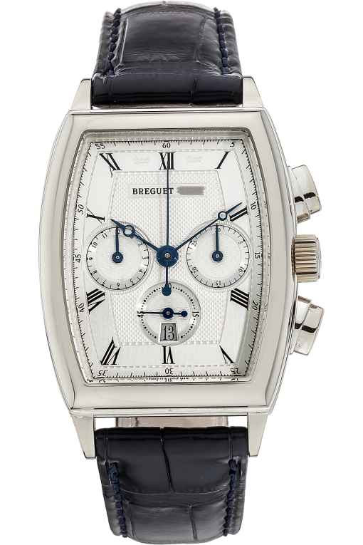 Breguet Heritage Chronograph  White Gold Men's Watch, preowned.5460BB/12/996