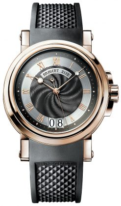 Breguet Marine Automatic Big Date 18k Rose & White Gold  Men's Watch, Preowned-5817BE/Z2/5V8 Preowned-5817BE/Z2/5V8